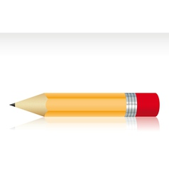 Isolated small pencil vector image vector image
