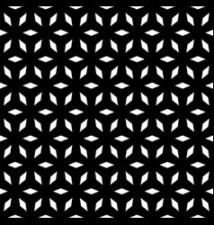 seamless pattern simple geometric ornament vector image