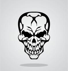 Tribal Skull vector image