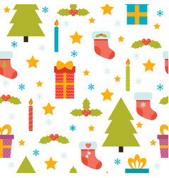 Holidays background with christmas tree vector