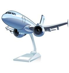 Cartoon airliner vector