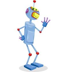Fantasy robot cartoon vector