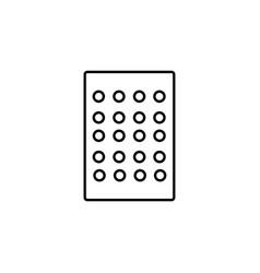 Mould icon vector