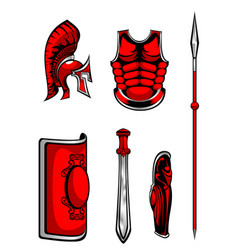 Set of armour vector