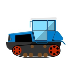 Caterpillar tractor vector