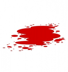 Blood splashes vector