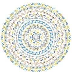 mandala background vector image vector image