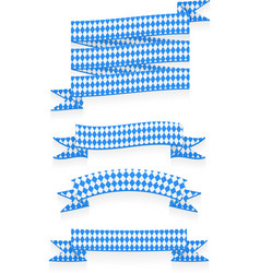 Oktoberfest ribbons vector