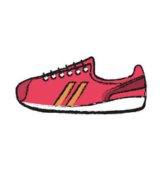 sport shoes icon vector image