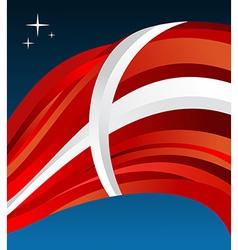 Denmark flag background vector