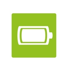Battery power energy icon vector