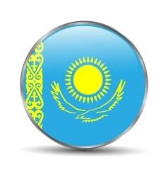 Kazakhstan Flag vector image