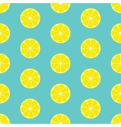 Lemon Seamless Background vector image