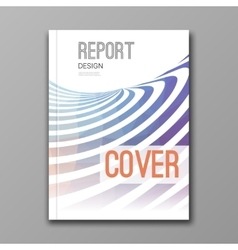 Business design template cover brochure report vector