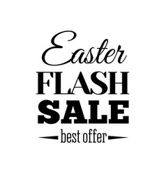 easter sale offer vector image