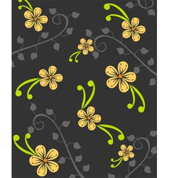 Beautiful abstract floral background vector