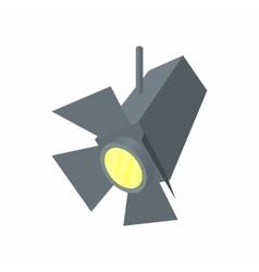 Spotlight icon cartoon style vector