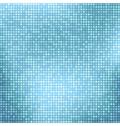Abstract light blue background with tiny squares vector