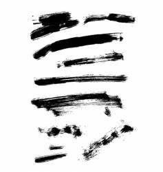 Black ink vector