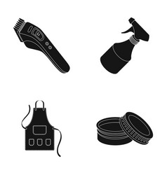 electric clipper apron cream and other vector image