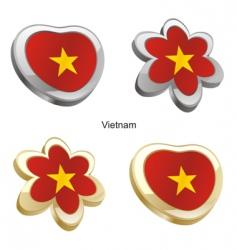flag of Vietnam vector image