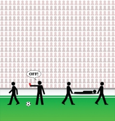 Soccer pictogram vector