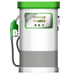 A petrol pump vector