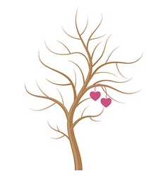 Wedding tree vector