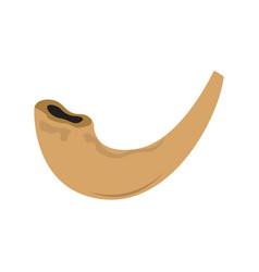 Jewish shofar image vector
