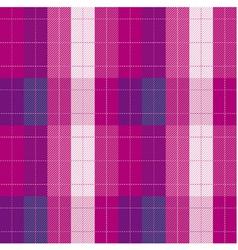 Plaid fabric seamless pattern vector