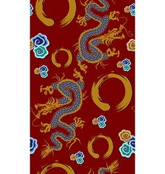 2012 china dragon of water year vector