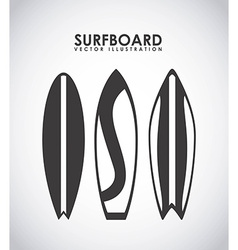 Surfing design vector