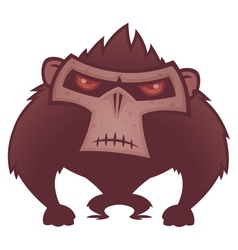 Angry Ape vector image vector image