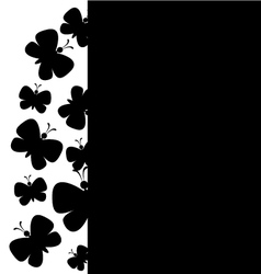 background butterfly vector image vector image