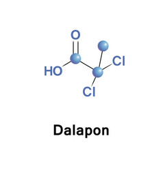 Dalapon is a selective herbicide vector
