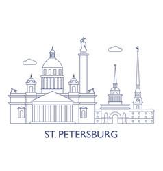 St petersburg vector