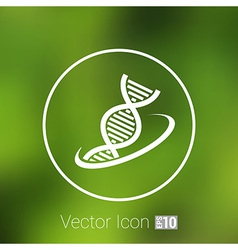 Molecular compound icon icon chemistry vector