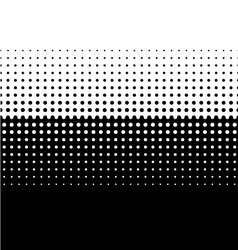 Halftone Screen Gradation vector image vector image