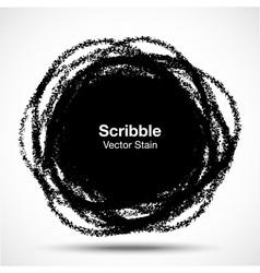 Hand Drawn in Pencil Scribble Circle logo design e vector image vector image