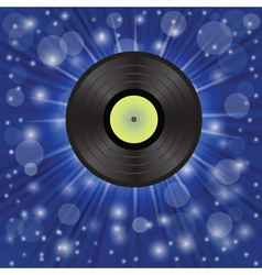 star music background vector image vector image