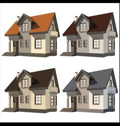 Cottages vector