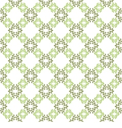 seamless background White wallpaper with green vector image
