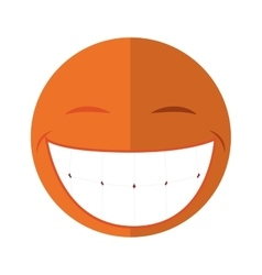Cartoon face icon circle design graphic vector