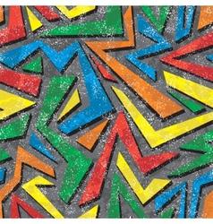 Absract graffiti seamless pattern vector