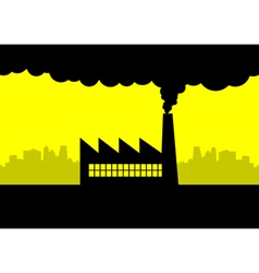 Pollution vector image