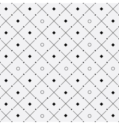 Minimalist pattern rounds dots stripes rhombus vector