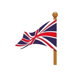 Flag icon united kingdom design graphic vector