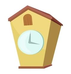 Cuckoo clock icon cartoon style vector image vector image