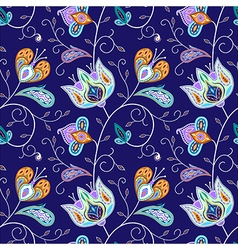indian pattern 03 vector image vector image