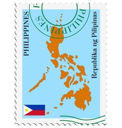 Mail to-from philippines vector